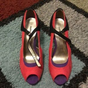 Multicolored 👠 heels.